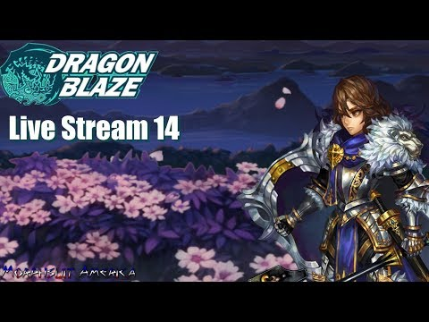 Dragon Blaze (Korea + Global) - Stream 14 Farming then Guild Adventure and Team Chat