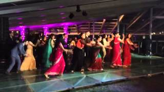 Bollywood Flashmob - Wedding - Gallan goodiyaan, N