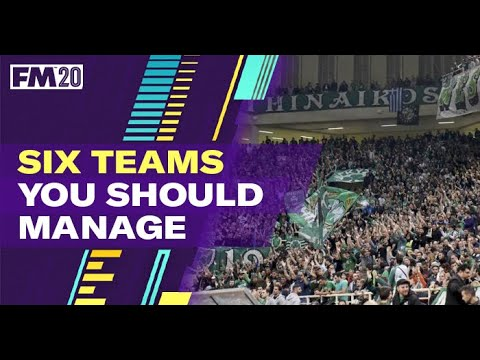 FM20 Teams To Manage | Best Football Manager 2020 Teams To Manage