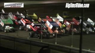 Bridgeport Speedway URC Sprint Car Highlights