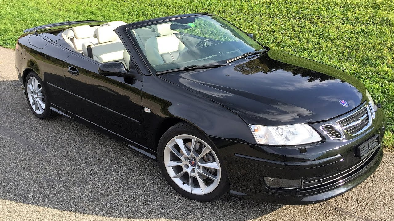 saab 9 3 aero 2 8t the forgotten convertible youtube. Black Bedroom Furniture Sets. Home Design Ideas