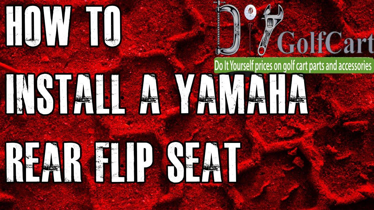 Yamaha G14 G16 G19 G22 Rear Flip Seat Kit