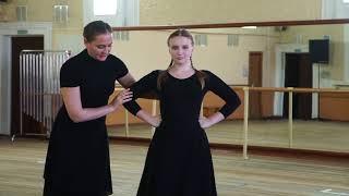 Как правильно делать простой ключ в русском народном танце