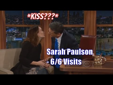 Sarah Paulson - Has An Aura Of Seduction & Goof - 6/6 Appearances In Chron. Order [HD]