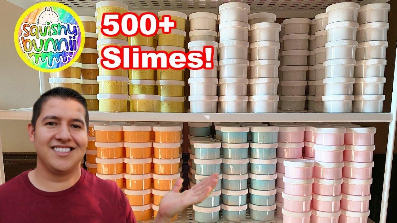 Slime Shop Restock! Best Sellers Restock! over 500+ Slimes! Squishybunnii