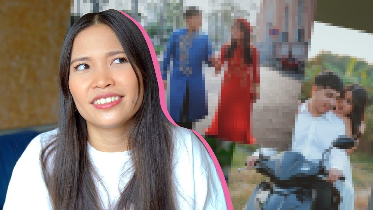 wir haben billige vietnamesische Hochzeitsfotos gemacht (obwohl wir nicht mehr heiraten 😢)