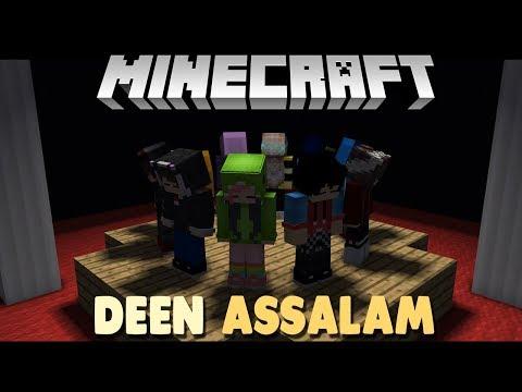 DEEN ASSALAM ( GenHalilintar Cover ) - Minecraft Animation Indonesia