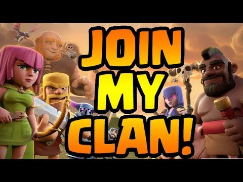 HOW TO JOIN MY CLAN!  October 2017 | Clash of Clans