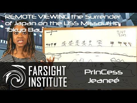 PrinCess Remote Viewing the USS Missouri During Japan