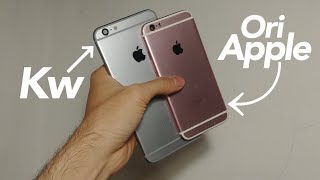 Housing iPhone ori vs kawee (berikut penjelasan nya)