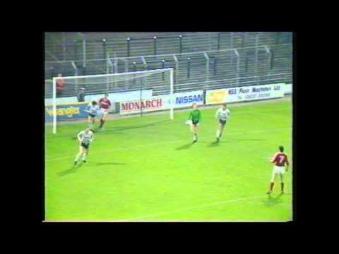 Notts County v Middlesbrough 1986 third division highlights