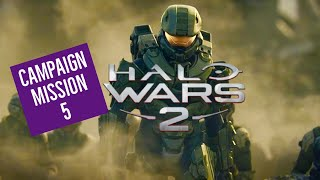 HALO WARS 2! CAMPAIGN WALKTHROUGH MISSION 5! XBOX ONE! LETS PLAY!