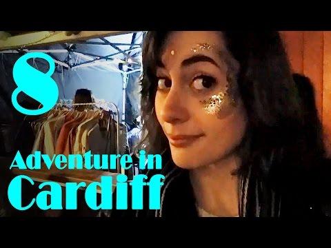 Vintage fair & room tour! // Adventure in Cardiff #8