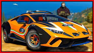 GTA 5 Roleplay - if they catch me they win my Lamborghini | RedlineRP