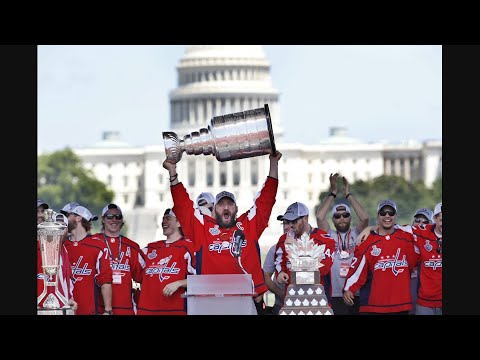 Ovechkin Leads DC in Stanley Cup Celebration