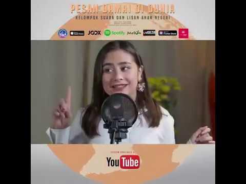 Free Download Pesan Damai Di Dunia - Suara Dan Lisan Anak Negeri !! Muda Berprestasi Mp3 dan Mp4