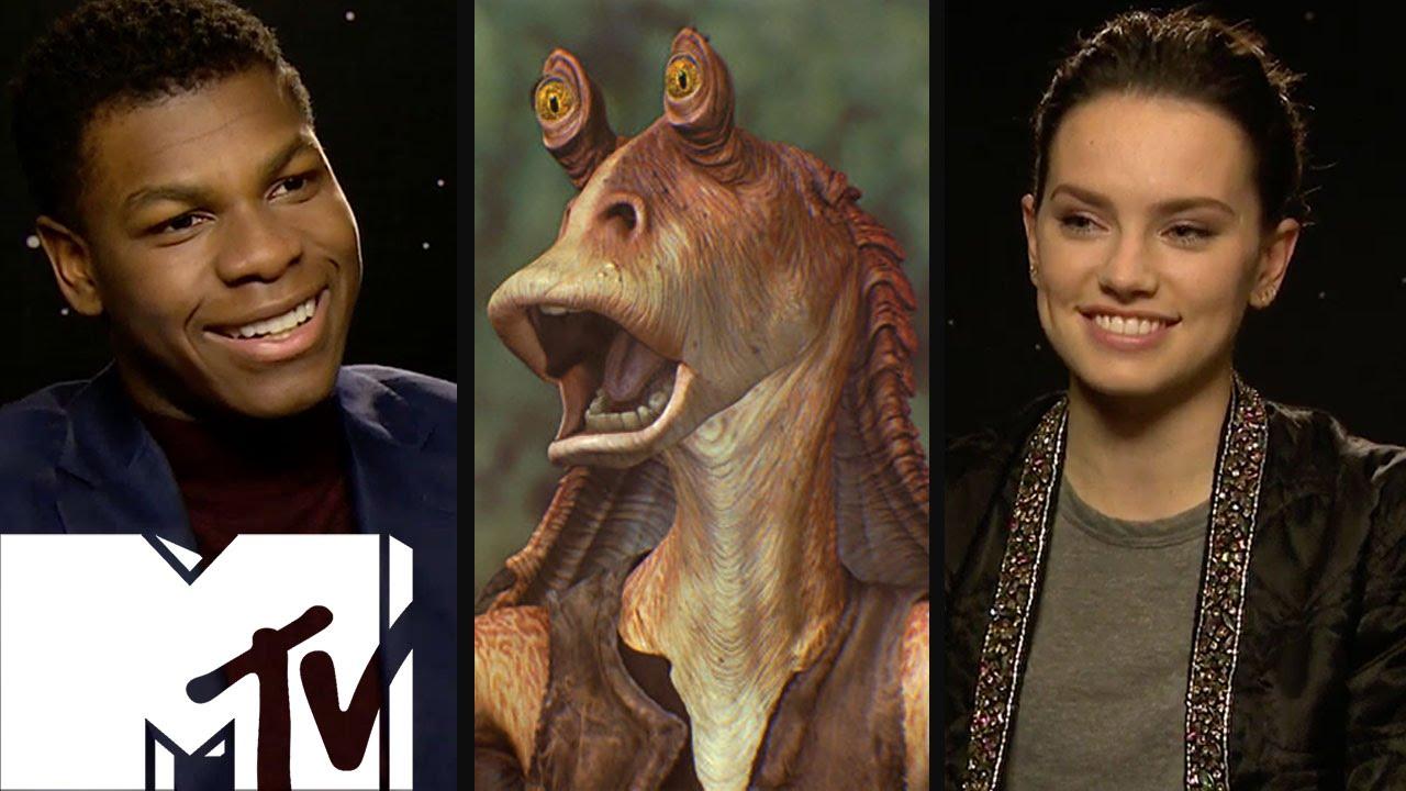 Jar Jar Binks Sith Lord Theory Star Wars Cast Speak Out Mtv Movies Youtube