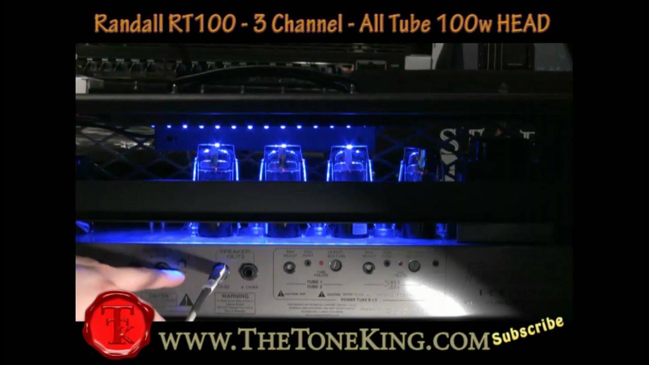 Randall RT Series - The RT100 w  Ibanez Xiphos 100w Tube Head - RT103 RT503  RT50 RT 103 503 50 100