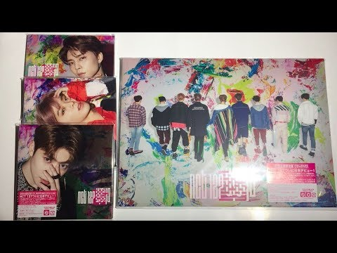 ♡Unboxing NCT 127 1st Japanese Mini Album Chain (3 Standard & Limited  Edition)♡