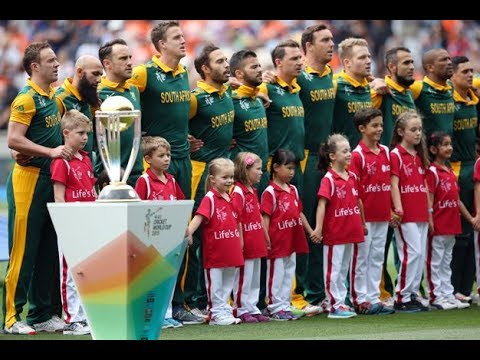 South Africa National Anthem In Cricket