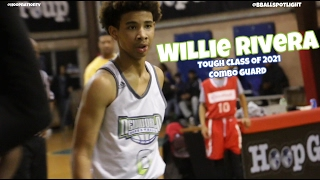 CG Willie Rivera Of New World AAU Shows Off @ Bballspotlight Clash For The Cup ! - 2022 Prospect