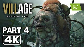 RESIDENT EVIL 8 VILLAGE Gameplay Walkthrough Part 4 FULL GAME (4K 60FPS)