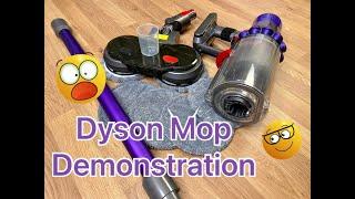 DYSON Power Mop Demonstration