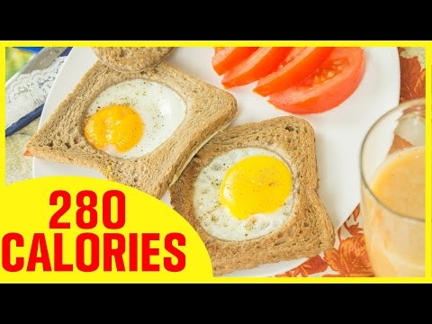 Egg In A Hole, Healthy Breakfast Recipes