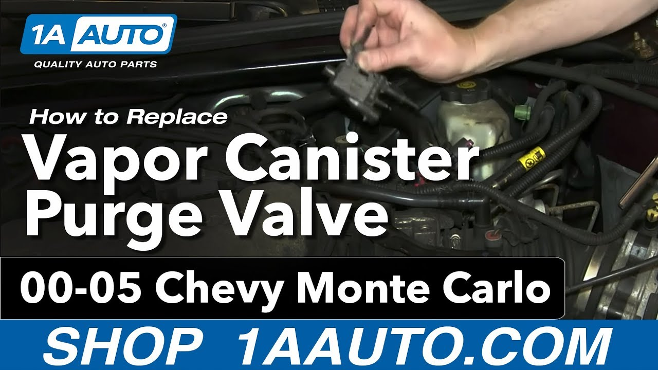 maxresdefault how to install replace vapor canister purge valve 3 4l chevy monte  at edmiracle.co