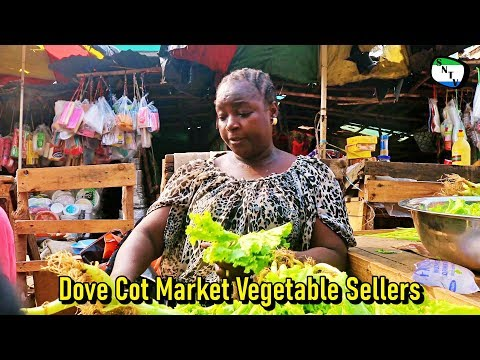 Talk To The Camera - Dove Cot Market Vegetables Sellers - Sierra Leone