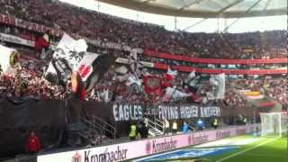 Eintracht Frankfurt Fanblock 20.10.2012 - HD