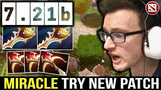 Miracle 7.21b New Patch Kunkka with 2x Divine Rapier - can he do it?
