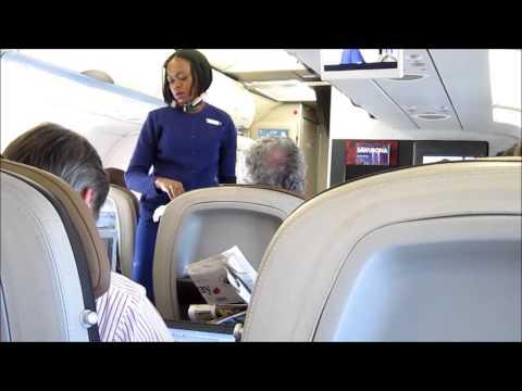 SAA New Business Class Johannesburg to King Shaka on a A320