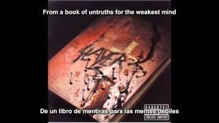 Slayer - New Faith (God Hates Us All Album) (Subtitulos Español)