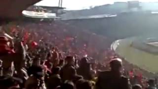 AZE.az: Фанаты ФК Трактор скандируют лозунги! Тебриз, Южный Азербайджан