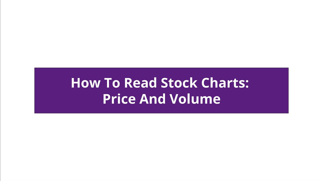 How To Read Stock Charts: Price And Volume - William O'Neil India