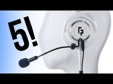 New ModMic 5 Review! 2-in-1 Detachable Gaming Microphone