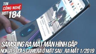 Samsung sắp ra mắt Smartphone màn hình gập | Tin Công Nghệ Hot Số 184