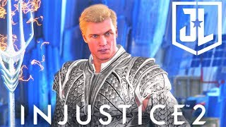 connectYoutube - INJUSTICE 2 - AQUAMAN Justice League Movie NEW EPIC GEAR SET Showcase!