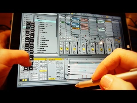 Surface Session 08 - Running Ableton Live 9 on the Surface Pro 3