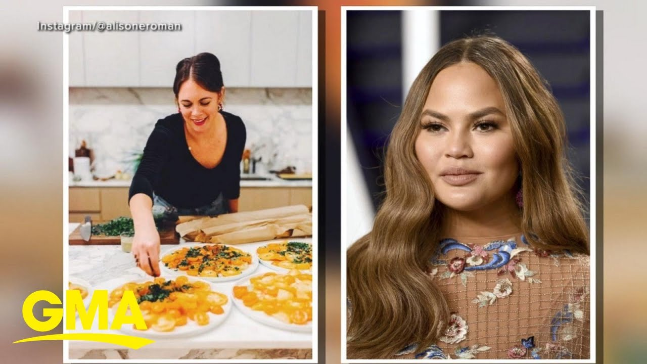 Alison Roman's foodie fight with Chrissy Teigen after calling her a sellout l GMA