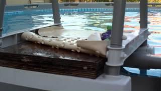 bestway pool ladder instructions