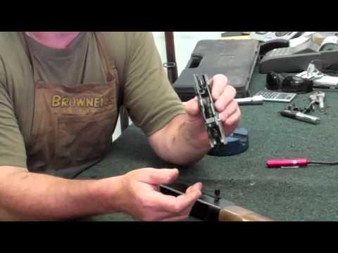 Gunsmithing Disassembly: Winchester 190 .22LR (Gunworks)