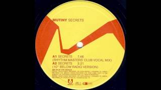Mutiny - Secrets (Rhythm Masters