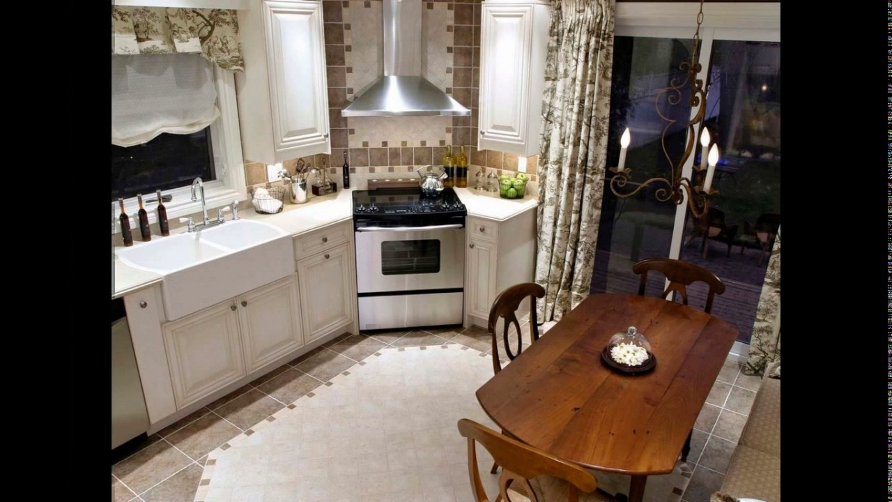 Corner Kitchen Stove Designs