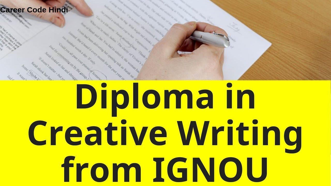 IGNOU DCH Diploma in Creative Writing in Hindi
