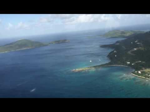 Flight to Puerto Rico Vieques Island