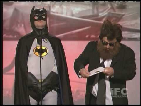 Christan Bale vs Joaquin Phoenix at IFC Spirit Awards