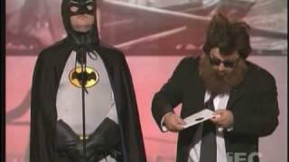 Christan Bale vs Joaquin Phoenix at IFC Spirit Awards