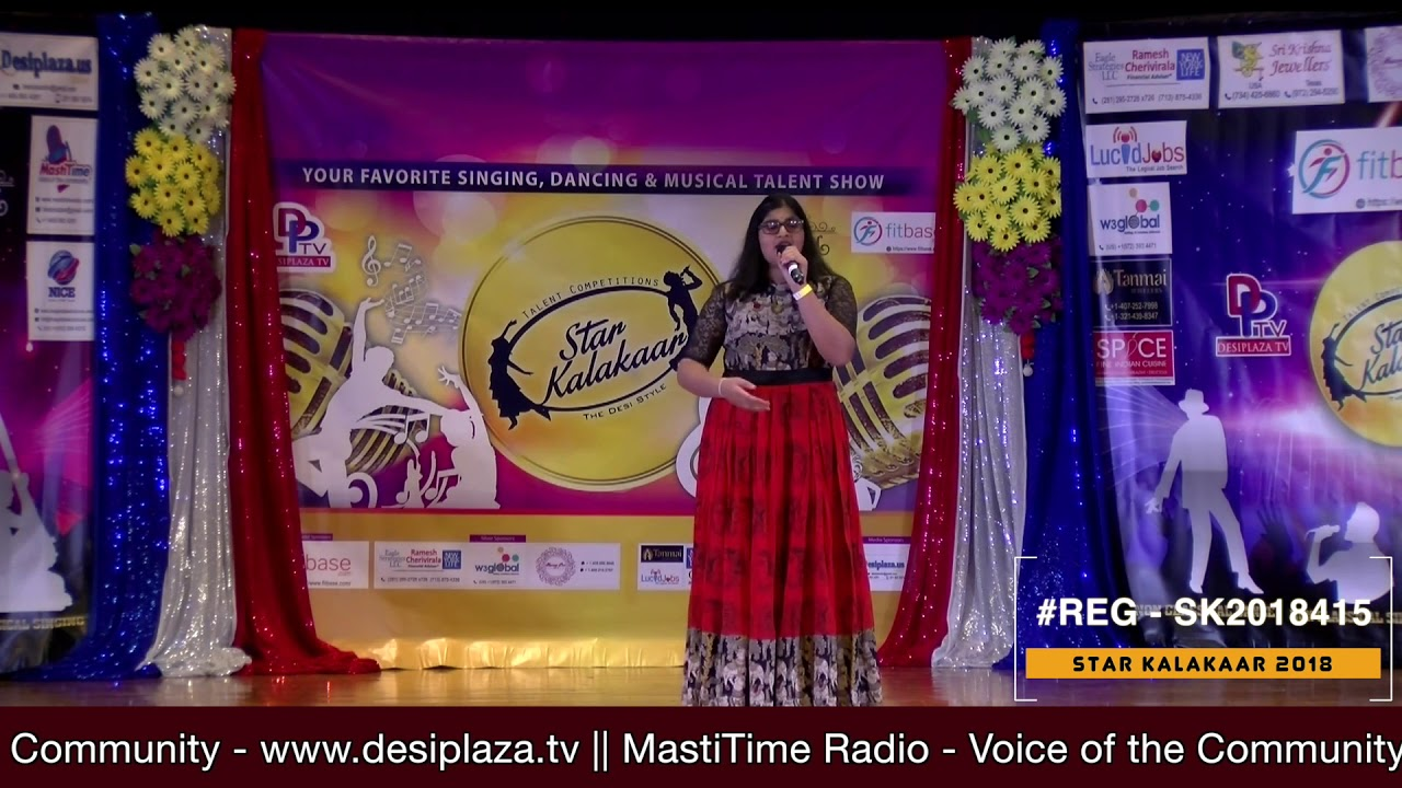 Registration NO - SK2018415 - Star Kalakaar 2018 Finals - Performance
